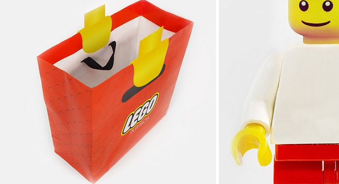 A Clever Shopping Bag That Turns Your Hand Into A LEGO - Digg