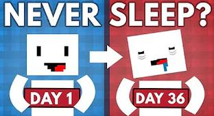 What Would Happen If You Tried To Stay Awake For A Week?