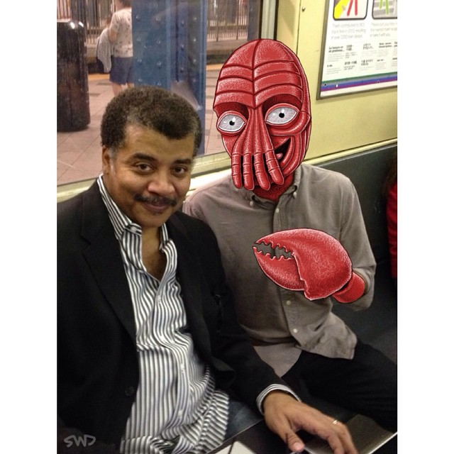 New York's Subway Is Filled With Monsters, And Not Just The