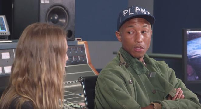 Pharrell Is Brought To Tears Listening To Student's Music During Masterclass