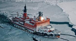 Beyond Breathtaking Footage Of The Largest Nuclear-Powered Icebreaker In The World