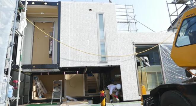 Watch A Modular Japanese Home Be Built In One Day Digg