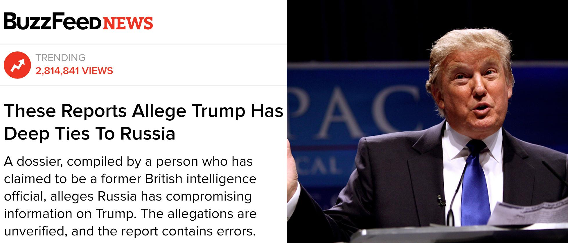 dossier on trump