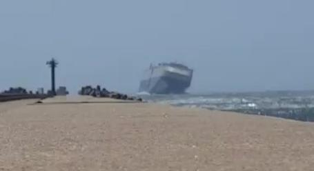A Cruise Ship Was Rocking So Hard In The Rough Winds We Were - Rocking cruise ship
