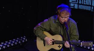 Ed Sheeran Covers 50 Cent, Coldplay And Blackstreet On 'Howard Stern'