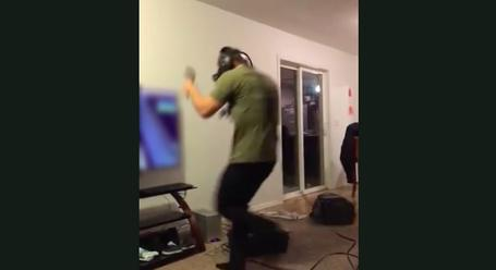 Virtual Reality Is Too Real For This Guy (With Devastating Consequences)