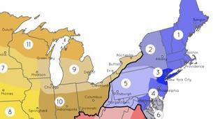 Cultural Regions Of America, Visualized