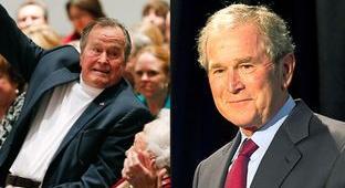 Bush 41, 43 Have No Plans to Endorse Trump, by Jordan  Rudner