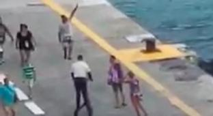 Unlucky Vacationers Miss Their Cruise Ship's Departure By A Few Minutes