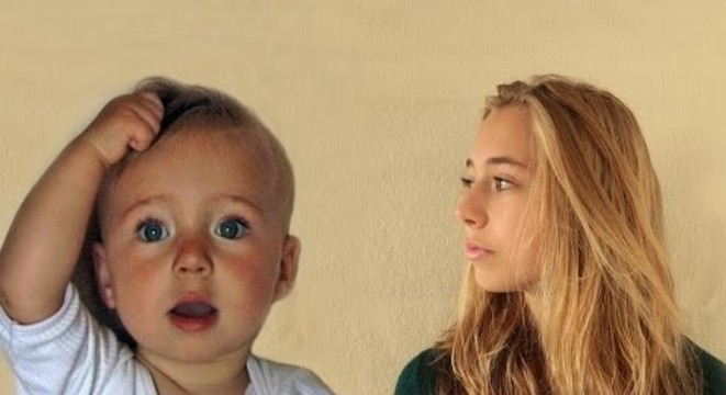 Girl Ages From 0 To 14-Years-Old In 4 Minutes - Digg