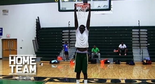 Cower Before The Worlds Tallest High School Basketball