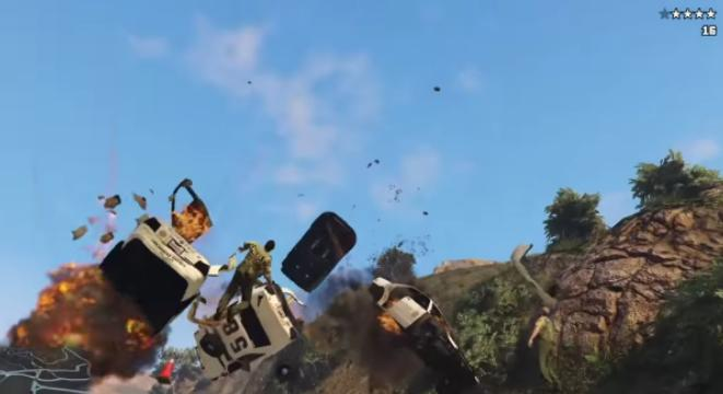 Expertly Choreographed 'GTA V' Police Chase Is Like A Beautiful Car Ballet