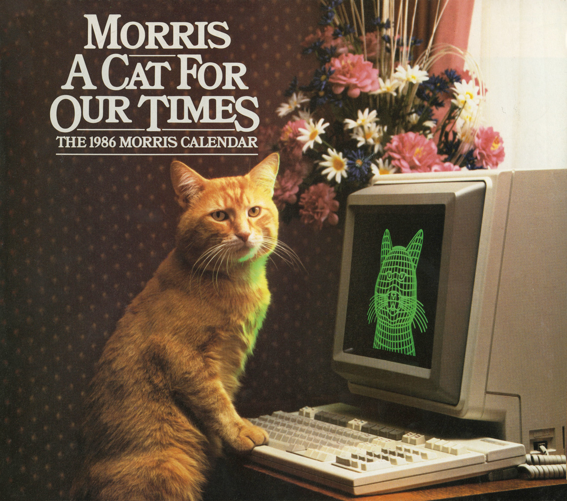 This Cat Calendar From 1986 Is The Best Thing Online This ...