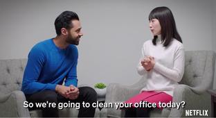 Marie Kondo Helps Hasan Minhaj Clean His Only-Sort-Of-Messy Office