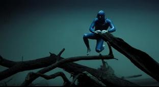 An Eerily Beautiful Film Of A Free Diver Exploring A World Beneath The Ice
