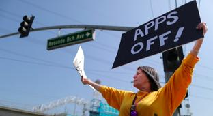 Uber And Lyft Drivers Celebrate IPOs By Going On Strike