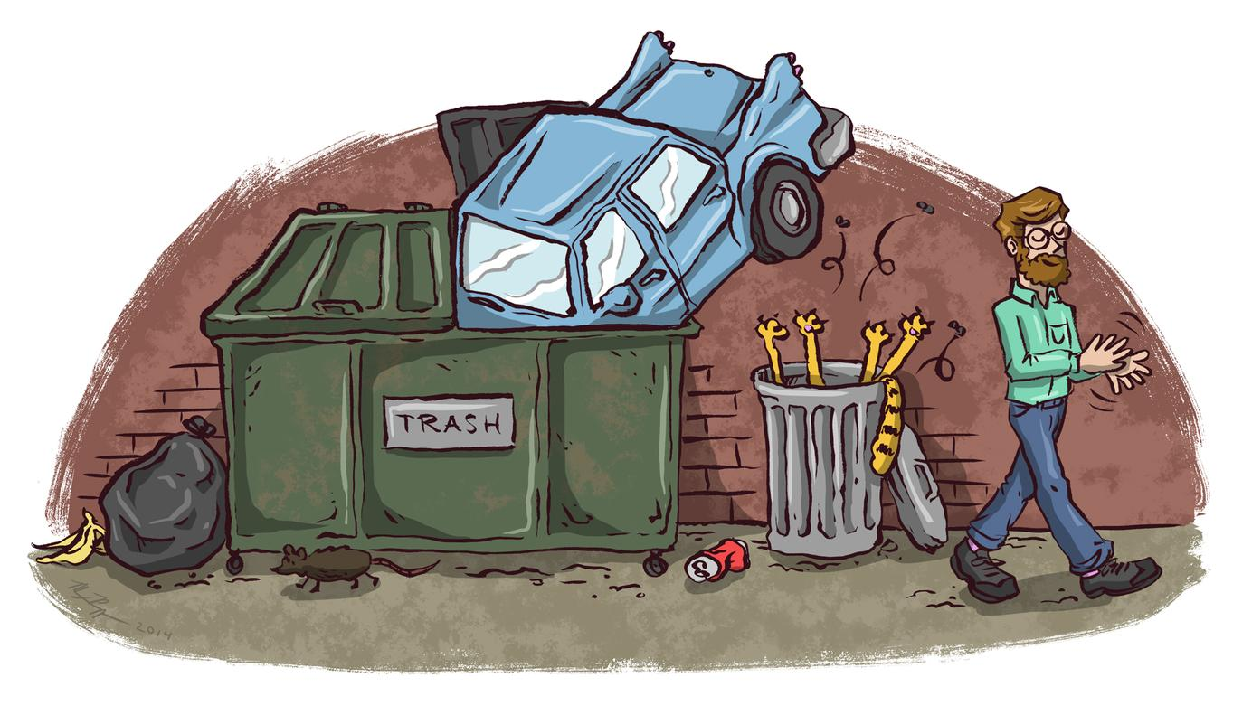 How to dispose of everything digg for Where to dispose of old motor oil