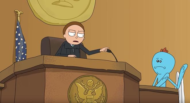 The Most Insane, Vulgar Court Transcript In History Got The Full Animated 'Rick And Morty' Treatment