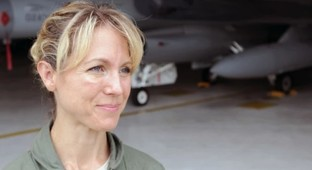 F-16 pilot was ready to give her life on Sept. 11
