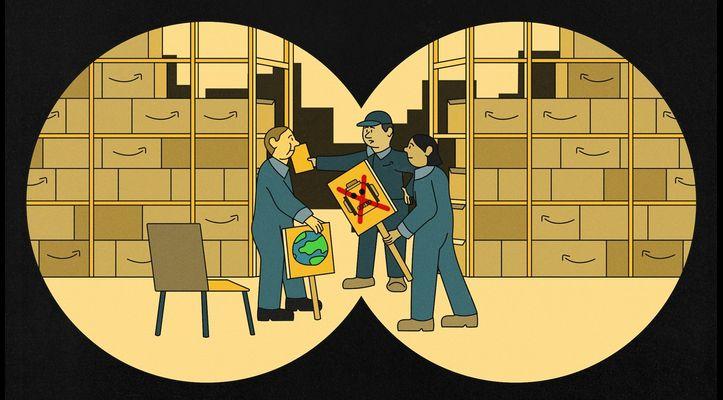 Secret Amazon Reports Expose Company Spying On Labor, Environmental Groups