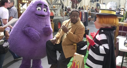 McDonald's Manager Says Grimace Is