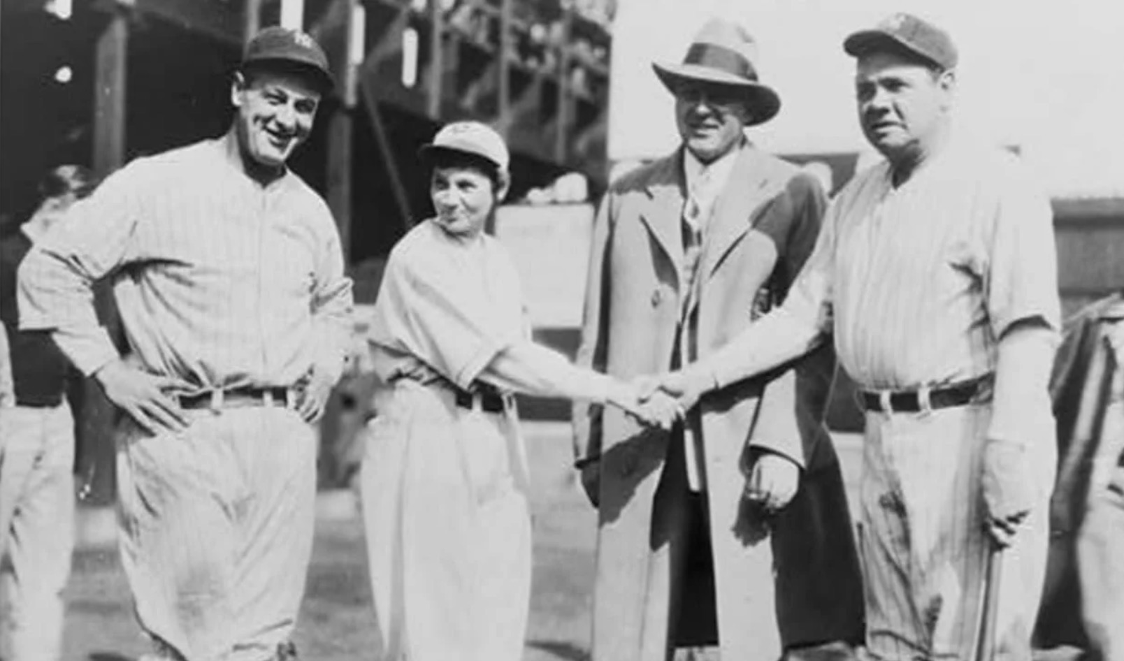The Myth Of Jackie Mitchell, The Girl Who Struck Out Ruth And Gehrig (2013)