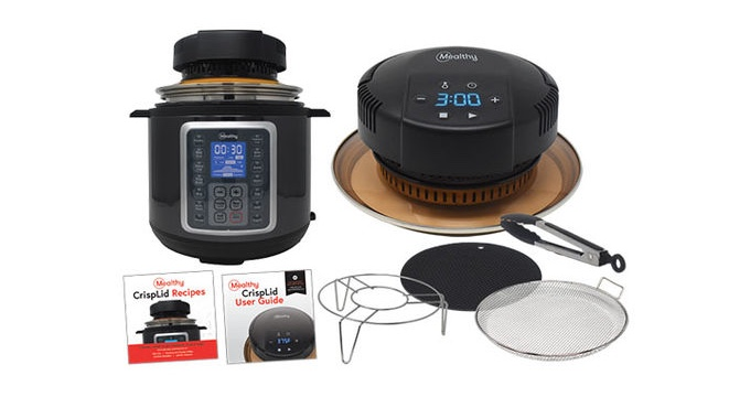 Convert Any Electric Pressure Cooker Into an Air Fryer & Save Counter Space