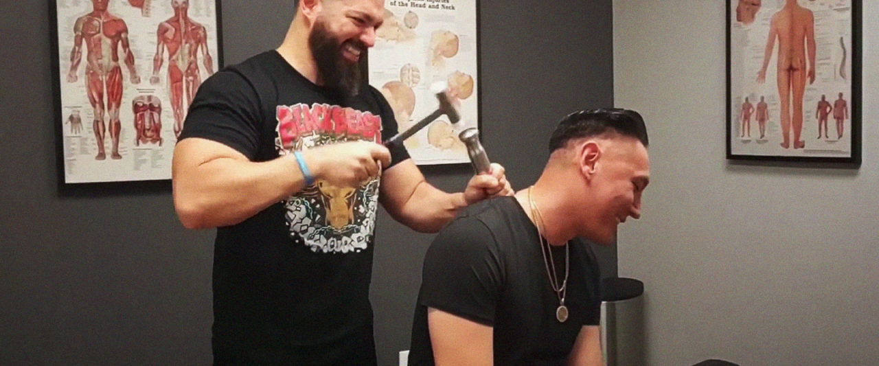 MMA's Favorite Chiropractor Wants To Put A Giant Chisel In Your Back