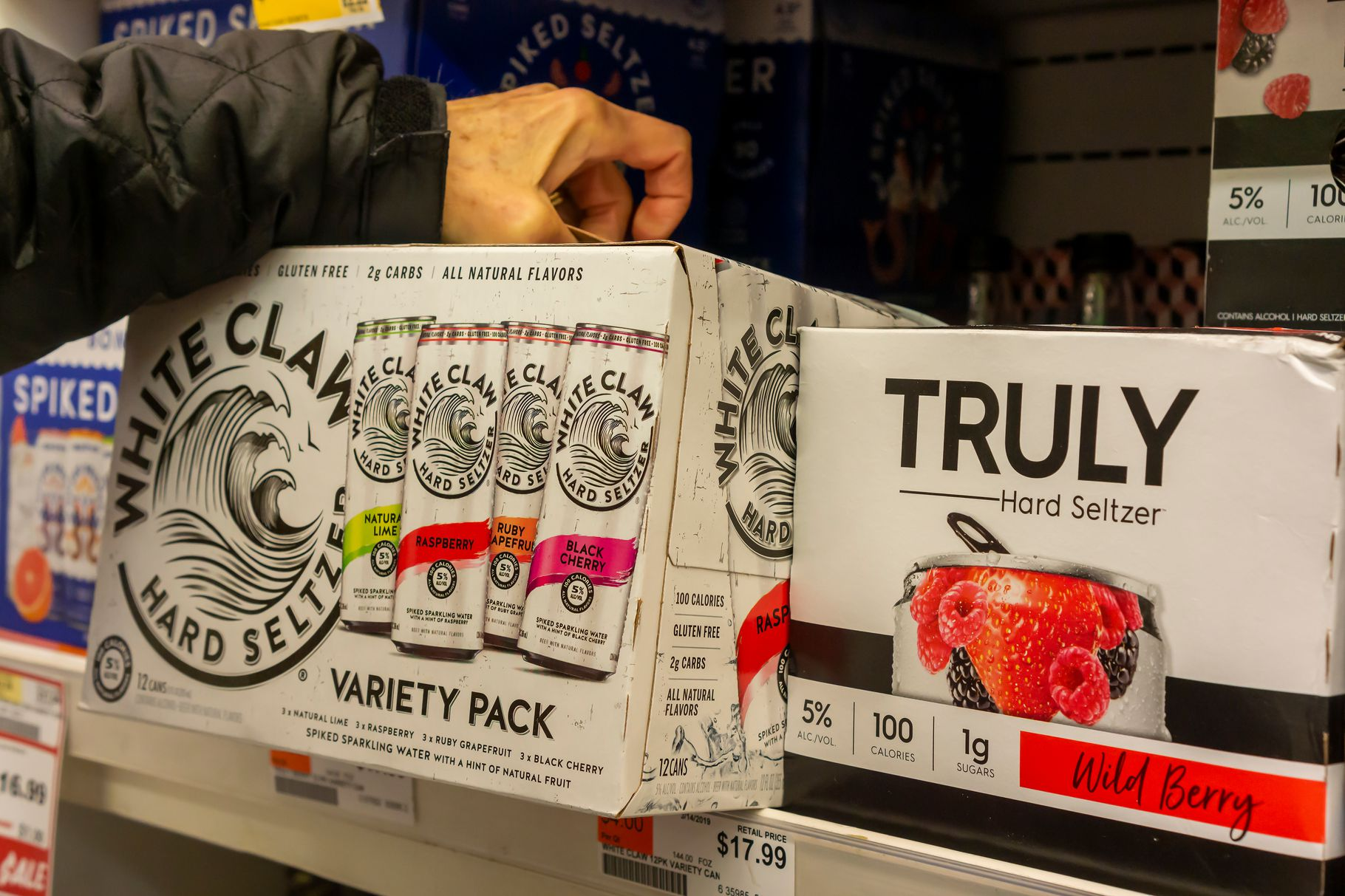 What White Claw Obsession Says About Our Changing Relationship To Alcohol