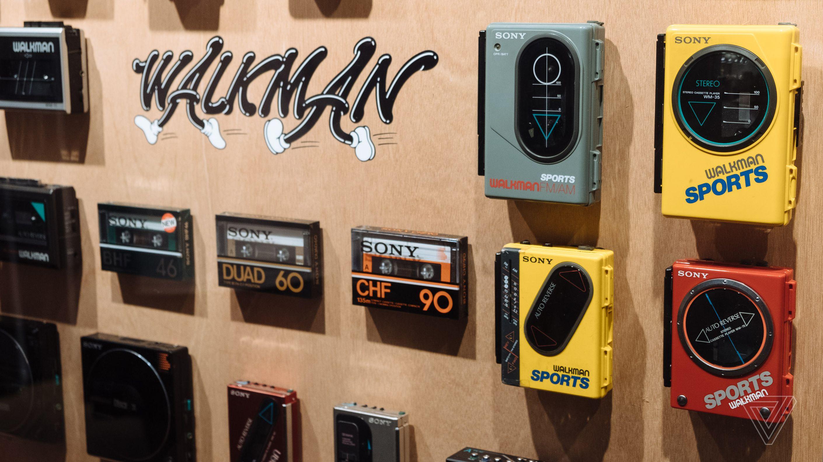 Sony Celebrates 40 Years Of Walkman In Tokyo