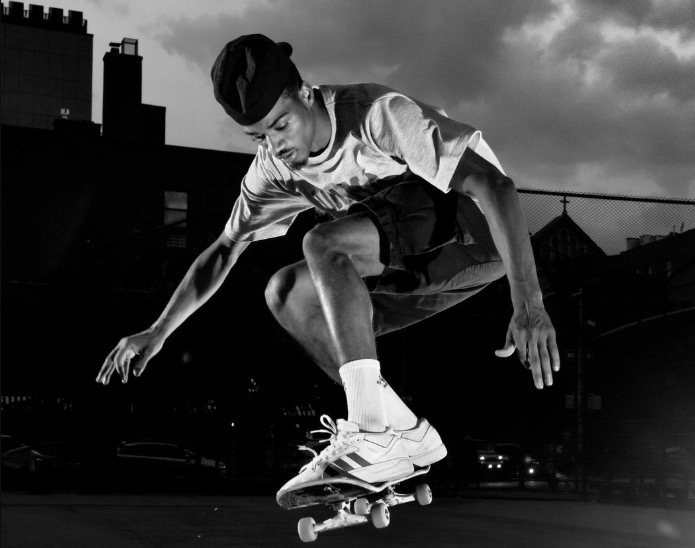 New York City's First Skateboarding Superstar