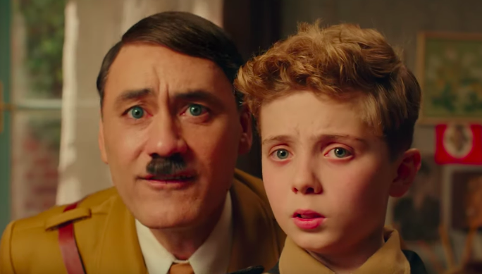 Taika Waititi Is An Imaginary Adolf Hitler In Trailer For Wacky WWII Satire Film 'JoJo Rabbit'