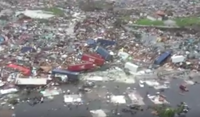 First Helicopter Footage Shows Hurricane Dorian's Complete Obliteration Of The Bahamas' Abaco Islands