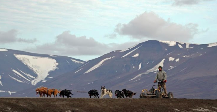 A Climate-Change Frontier In The World's Northernmost Town