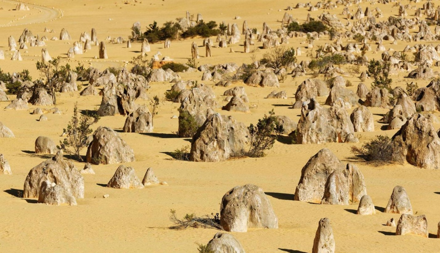 Australia's Bizarre Coastal Desert