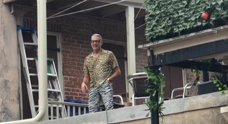 Here's Jeff Goldblum Dancing Sensually On A Balcony At New Orleans' Southern Decadence Festival