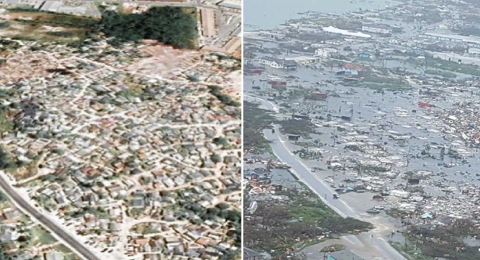 The Bahamas, Before And After Hurricane Dorian