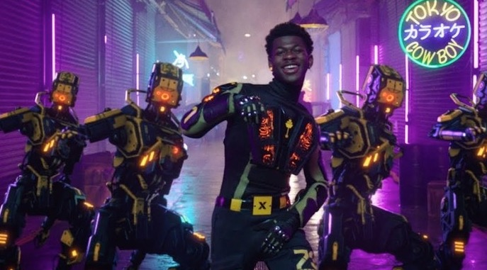 Lil Nas X Ditches His Horse For Dancing Robots In Futuristic 'Panini' Music Video
