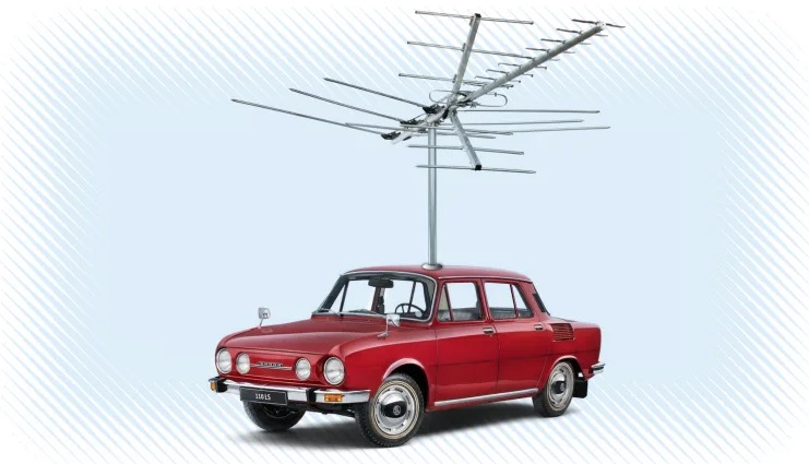 Why Cars Don't Have Those Long Antennas Anymore
