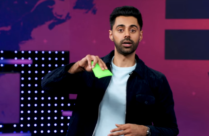 Hasan Minhaj Candidly Takes Audience Questions  About The Amazon Fires And Impending Recession