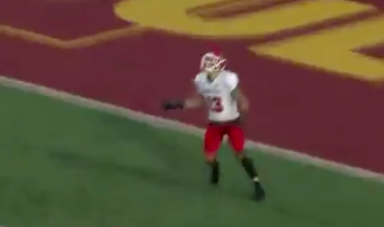 This Kickoff Return Might Already Be The Most Dramatic Play Of The College Football Season