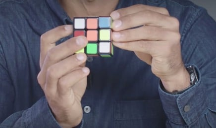 A Step-By-Step Guide To Solving A Rubik's Cube