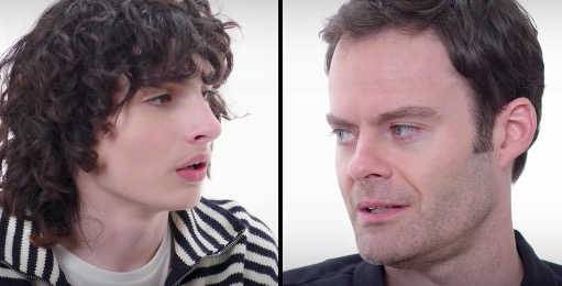 Bill Hader Hilariously Laments To Finn Wolfhard How People Keep Mistaking Him For Rainn Wilson