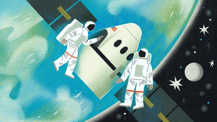 Cartoon space iphone wallpaper makes sense
