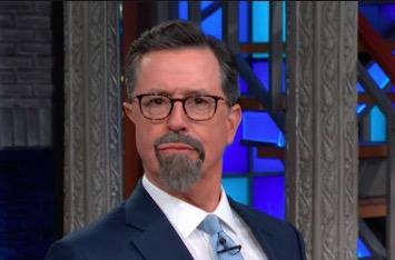 Stephen Colbert Clowns Sebastian Gorka So Bad You'd Feel Bad For His Parents