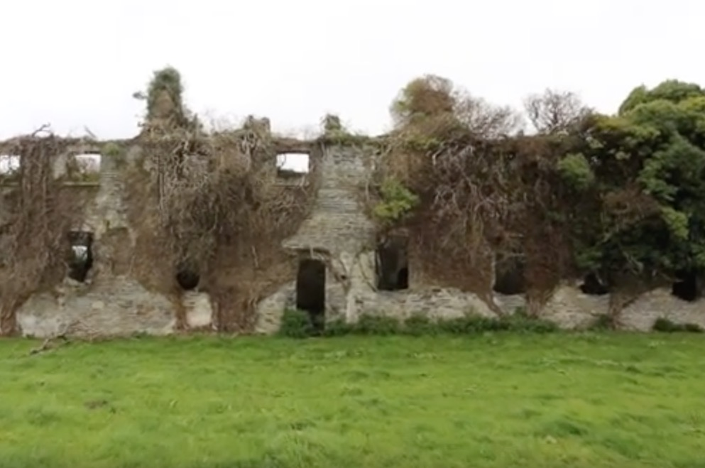 Man Explores An Abandoned Workhouse Mortuary Hospital In Ireland