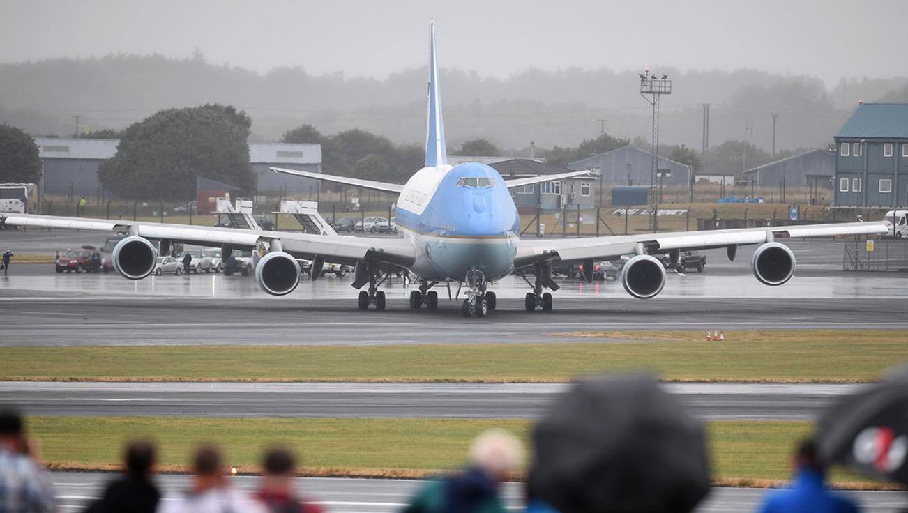 Air Force leaders order probe of Trump resort stays