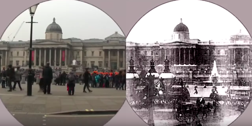 A Side-By-Side Comparison Of London In 1890 And 2015 Shows How Much The City Has Changed