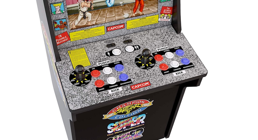 Digg Deals: Take $112 Off Street Fighter Arcade Mini Cabinet