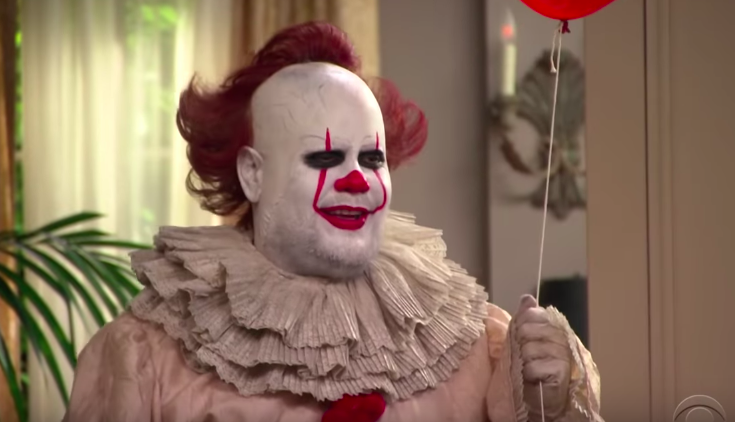 James Corden Is Pennywise On Mock Episode Of 'The Bachelorette'